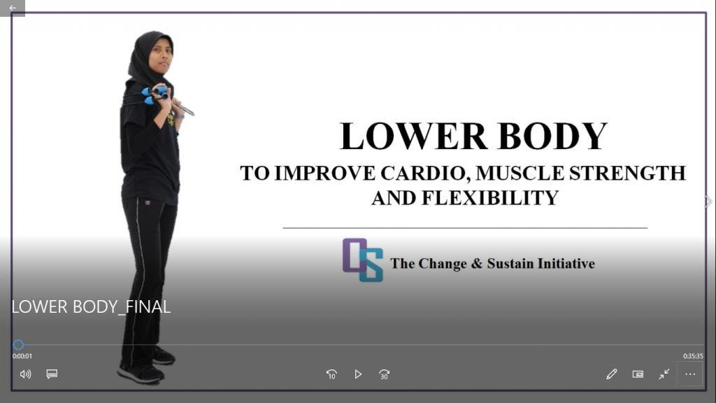A 35-min Lower Body