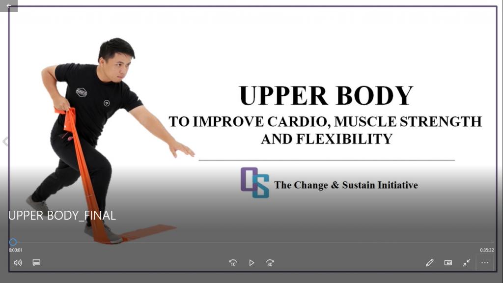 A 35-min Upper Body